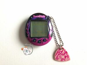 Tamagotchi Connection v6 Music Star English Purple Flames 2008 (US Seller)