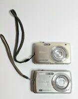 Lot of 2 Digital Cameras Untested 1 Casio EXLIM 1 Nikon COOLPIX