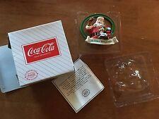 Ltd Ed Coca Cola Santa Ornament Collectors Society Holiday 00006000  Hospitality 1995