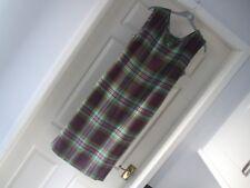 Beautiful Tartan  Dress 1960s Genuine period original Item lovely dress