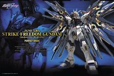 1/60 PG Strike Freedom Bandai Perfect Grade! Metal joints replacement available!