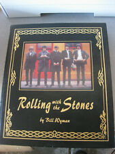 Rolling With the Stones - Bill Wyman (2002) Deluxe Leatherbound Edition NEW rare