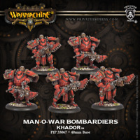 PP WARMACHINE Khador Man-o-war Demolition Corps Unit PIP 33085 Boxed NIB G18