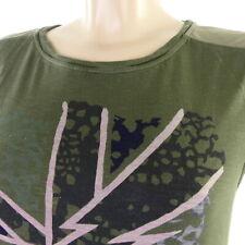 PEPE JEANS T-Shirt Print Oliv Melange Gr. M