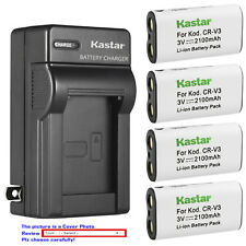 Kastar Battery Wall Charger for Pentax CR-V3 & DigiBino 100 Optio 230 Optio 30