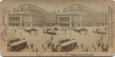 Opéra Vienne Wien Autriche Photo Stéréo Stereoview Vintage