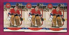 3 X 1990-91 PRO SET # 157 CANADIENS PATRICK ROY GOALIE CARD (INV# A3358)