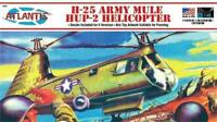 ATLANTIS 502 H25A US Army Mule HUP-2 Helicopter Plastic Model Kit 1/48 FREE SHIP