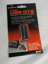New Micro USB OTG Memory Card Reader To View Trail Cam Images on Your Android