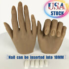 Silicone Practice Hands For Nails Lifesize Mannequin Female Model Display Insert