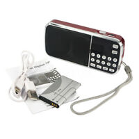 Portable HIFI Mini Multifunctional Digital MP3 Radio Speaker USB TF FM Radio LJ