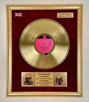 Something else by the Kinks (1967) - The Kinks Gold Vinyl Framed LP Display