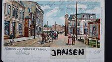 AK Süderbrarup Lithografie Kr. Schleswig-Flensburg