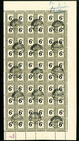 South Africa J21 Rare Stamp Sheet