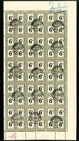 South Africa J21 Rare Stamp Sheet