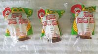 WALT DISNEY'S THE JUNGLE BOOK LOT OF THREE MCDONALD'S HAPPY MEAL TOYS