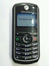 Motorola C118 - Schwarz D1 T1 Simlock Handy TOP ZUSTAND + ZUBEHÖHR