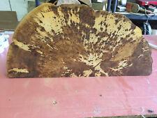 Baumscheibe, Holzscheibe, Waschtischplatte, ca.85x40x5 cm, geschliffen und geölt