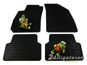4 x Gummi-Fußmatten ☔ für CHEVROLET AVEO T300 seitdem 2011