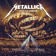 """Metallica Official 2021 Calendar  - Square 12"""" x 12"""""""
