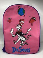 Vintage Dr. Seuss Backpack Cat In The Hat Seuss Wear 1998 *RARE*