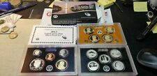 2013 U.S. Mint Silver Proof Set in box with COA 14 Coin Set W/ Dollars