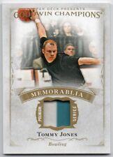 2016 Upper Deck Goodwin Champions Memorabilia Premium M-TJ Tommy Jones 1:260