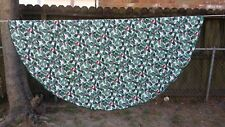"""Print Green Red Holly Berry Christmas Round 58"""" Tablecloth Free Shipping"""