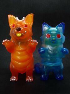 """Konatsuya x 628 """"Mai Tai & Blue Hawaii"""" Corgidon & Fluffy Negora Pair Konatsu"""