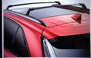 2019 2022 Cadillac XT4 Genuine GM Roof Rack Cross Rails Black 84486225