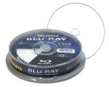 50 Traxdata Blu Ray 4x Discos en Blanco Imprimible por inyección de tinta BD-R 25 GB 4x 130 Min Ritek
