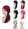 Muslim Women Hijab Cancer Hat Chemo Beanie Cap Hair Loss Head Scarf Turban Wraps