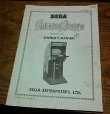 Sega ENOURO RACER Arcade Video Game Manual - good used original