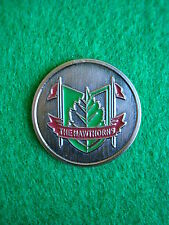 The Hawthorns Golf & Country Club Ball Marker Metal Flat Coin - Fishers, Indiana