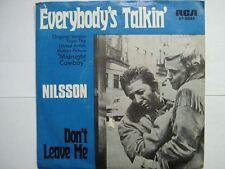 NILSSON 45 TOURS GERMANY EVERYBODY'S TALKIN'