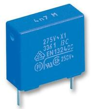 Capacitors - Film Suppression Capacitors - CAP FILM PP 1UF 630V RAD