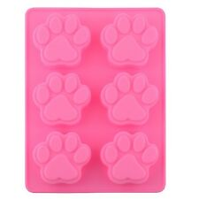 Hot sell Dog Paw Silicone Mold Ice Cube Cake Soap Baking Mould Kitchen Tool