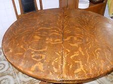 Vintage Solid Oak Round Pedestal Dining Set . Number of pieces 5.