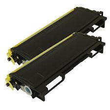 2 Pack TN-350 TN350 Toner Cartridge For Brother HL-2030 HL-2040 HL-2070N