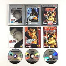 Tekken Tag + 4 + 5 / Lot 3 Jeu PS2 Sur Playstation 2