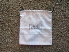 Lulu Guinness White Fabric Drawstring Small Tote Bag
