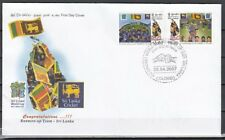Sri Lanka, Scott cat.1593-1594. ICC Cricket World Cup issue. First day cover.