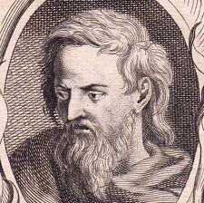 Portrait XVIIIe Jean Cousin l'Ancien Soucy Peinture Peintre Renaissance 1762