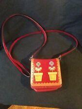 BRIGHTON leather purse satchel handbag Vintage