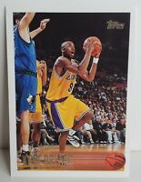 KOBE BRYANT ~ ROOKIE CARD! 1996-97 Topps #138 RC~ HIGH PSA! PACK FRESH Lakers 🔥