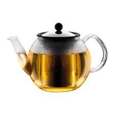 BODUM Shin Cha 34oz Glass Tea Press With Stainless-steel Filter Teapot