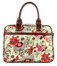 Oilily Tropical Birds Office Bag Umhängetasche Schultertasche Tasche Off White