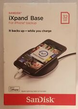 SanDisk iXPAND Base 32gb Charge Automatic Phone Backup Base for iPhone NEW