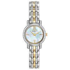 Citizen Eco-Drive Women's Swarovski Crystal MOP Dial 22mm Watch EX1244-51D