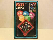 KISS CANDLE NEW ON CARD RARE
